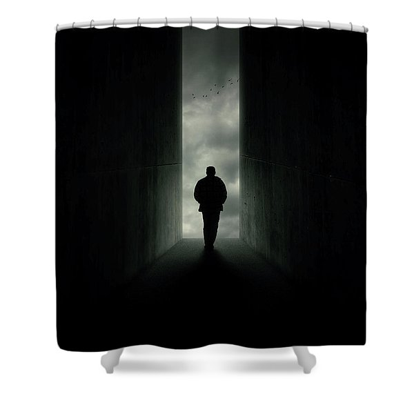 End Shower Curtain