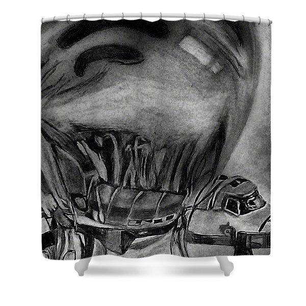 Endeavour Encased Shower Curtain