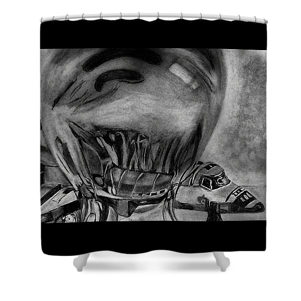 Endeavour Encased Shower Curtain