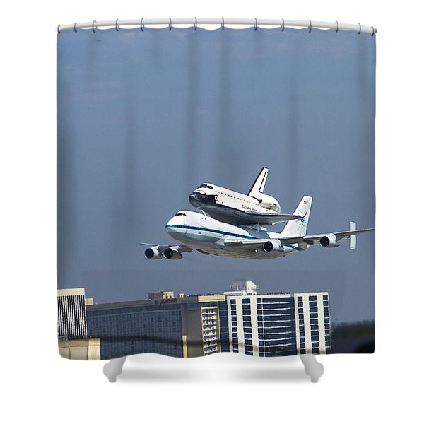 Endeavous Final Flight Lax Shower Curtain