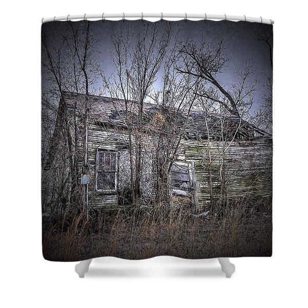 Ending Light Shower Curtain