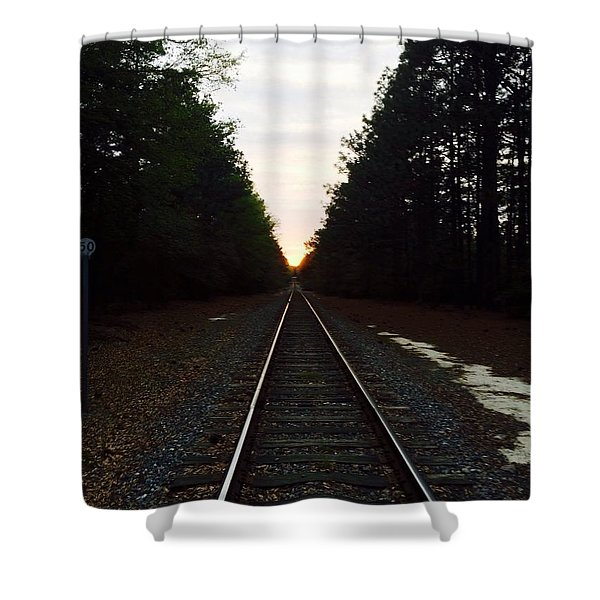 Endless Journey Shower Curtain
