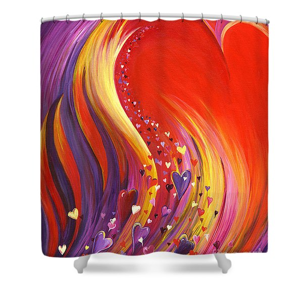 Arise My Love Shower Curtain