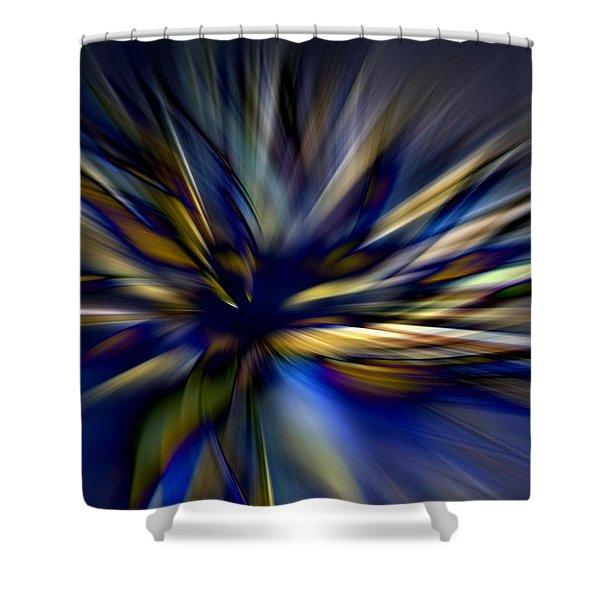 Energy In Flight Shower Curtain