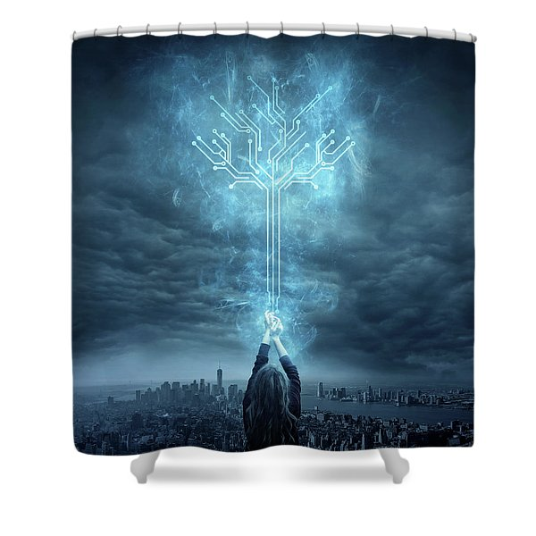 Energy Shower Curtain