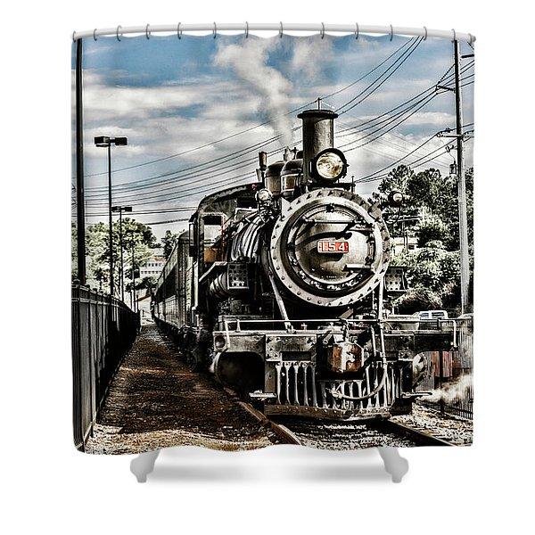 Engine 154 Shower Curtain