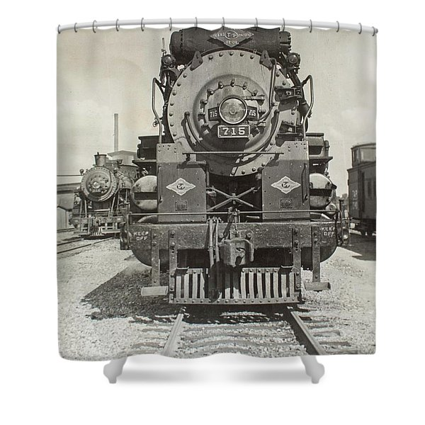 Engine 715 Shower Curtain