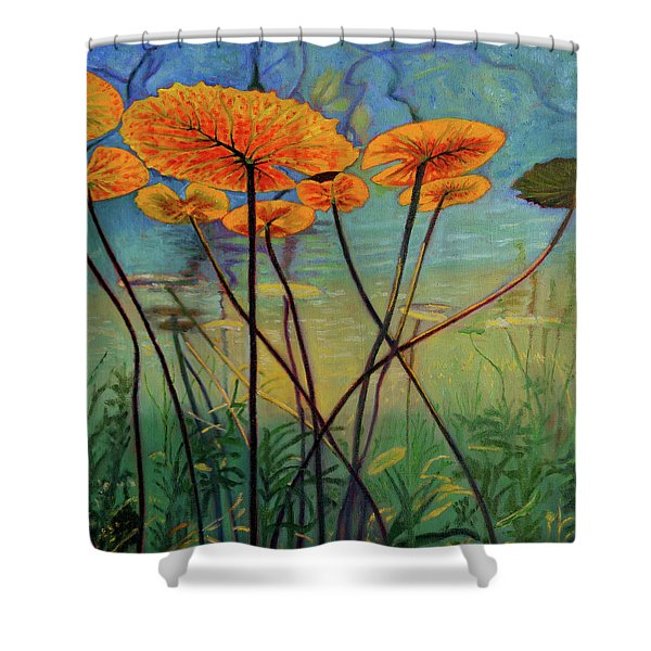 Englightenment Shower Curtain