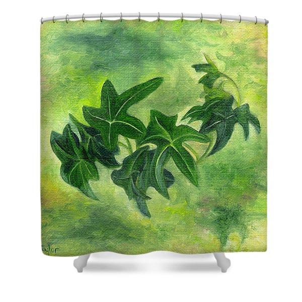 English Ivy Shower Curtain