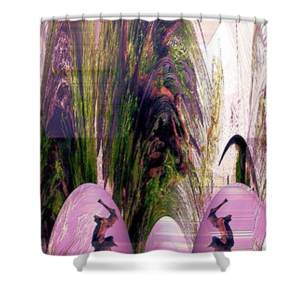 Enigma No 2 Shower Curtain