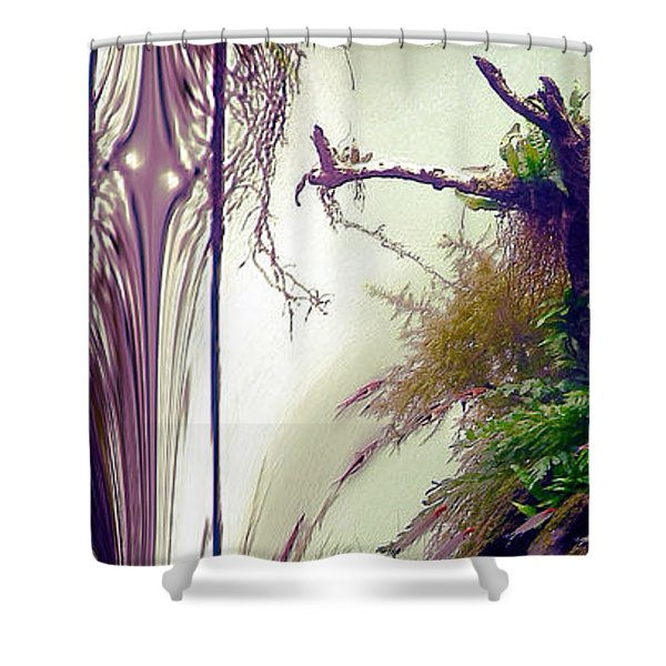 Shower Curtain featuring the photograph Enigma No 3 by Robert G Kernodle