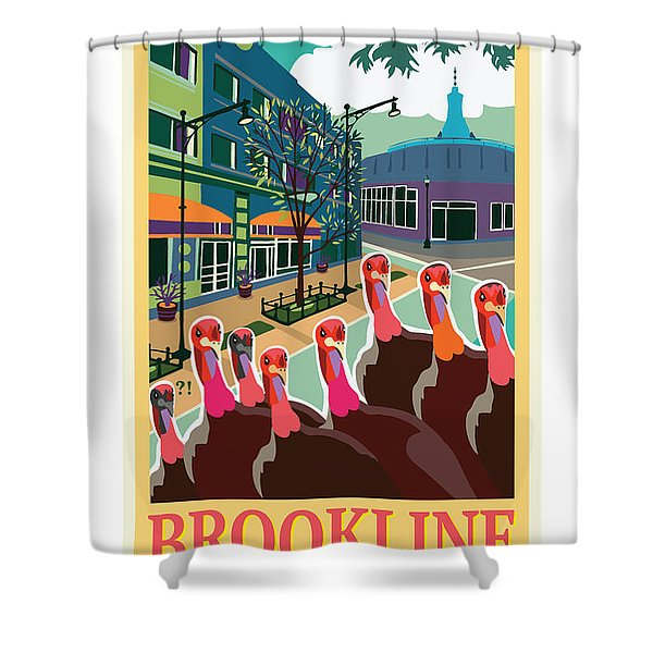 Enjoy Our Shopping Shower Curtain