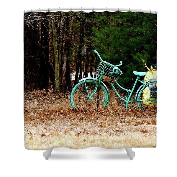 Enjoy The Adventure Shower Curtain