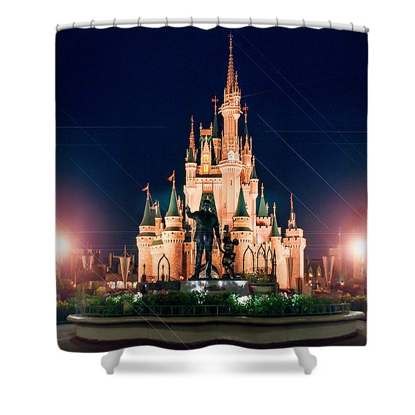 Enjoy The Magic  Shower Curtain