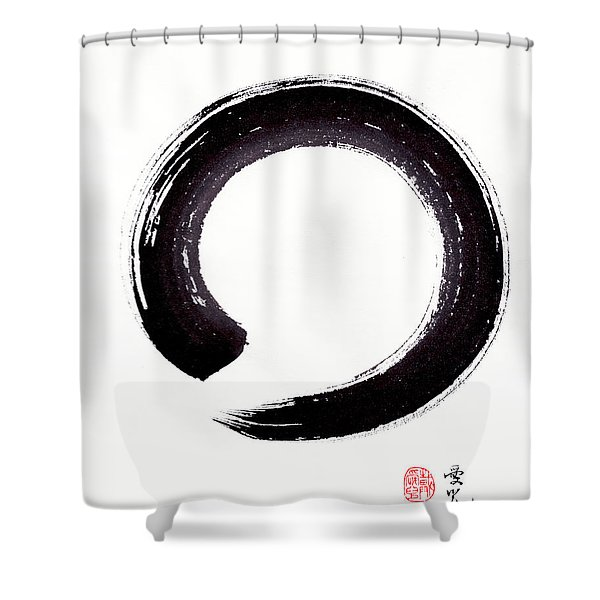 Enso - Embracing Imperfection Shower Curtain
