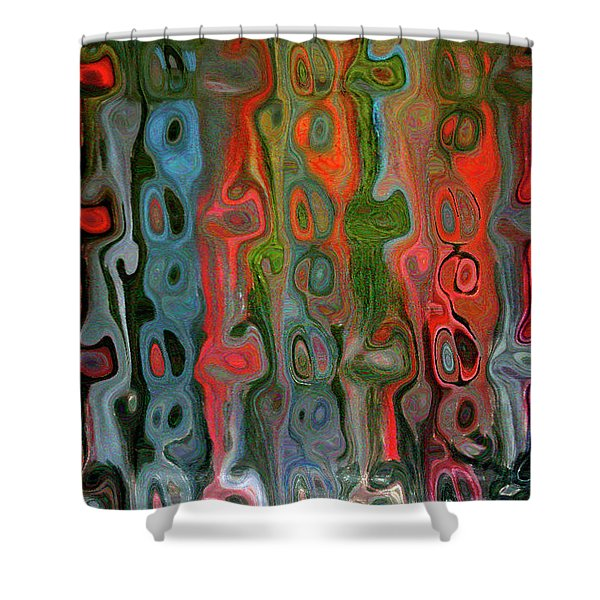 Entangled States Shower Curtain