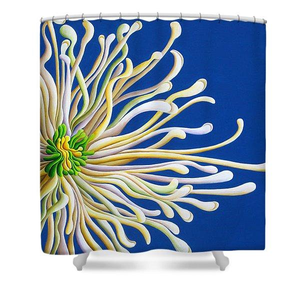 Entendulating Serene Blossom Shower Curtain