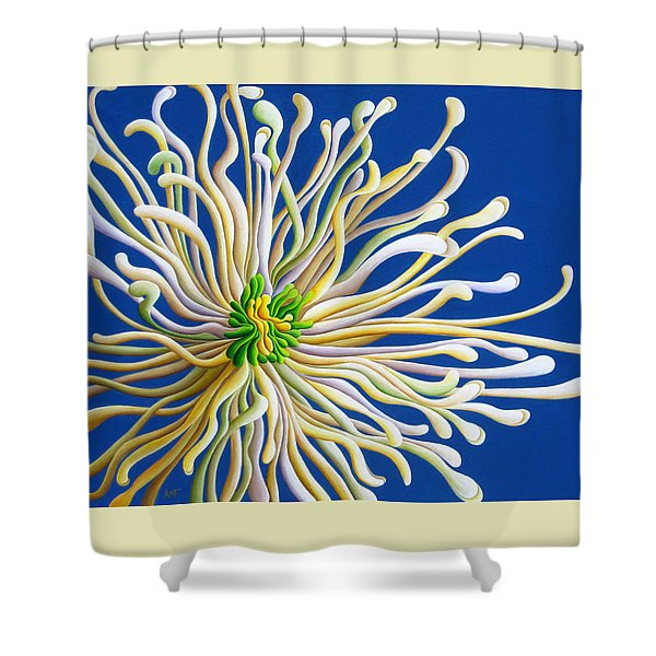 Entendulating Serene Blossom Shower Curtain