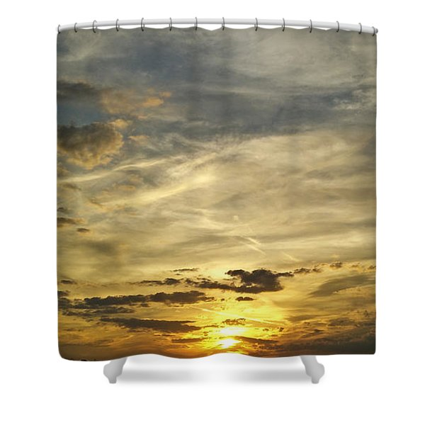 Enter The Evening Shower Curtain