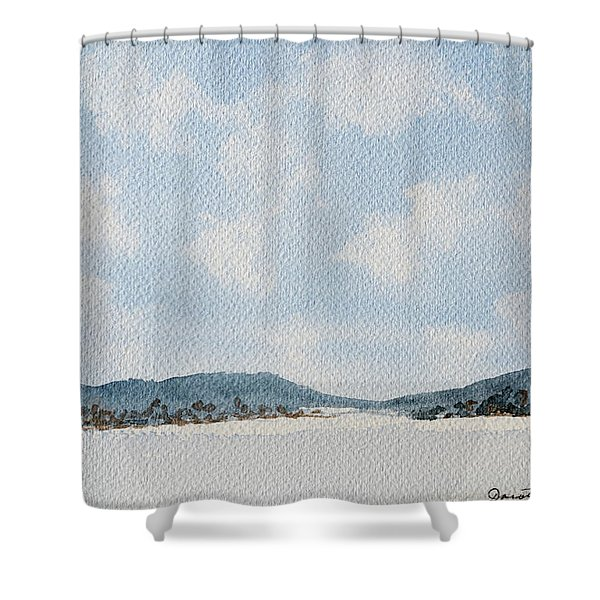Entrance To Moulters Lagoon From Bathurst Harbour Shower Curtain