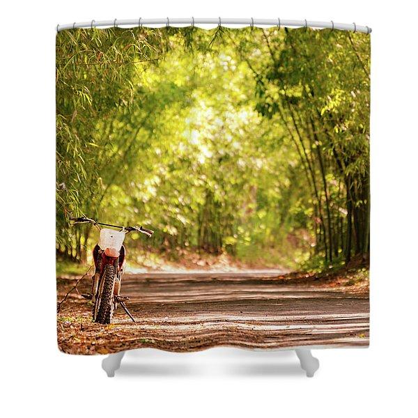 Jamaican Estate Shower Curtain