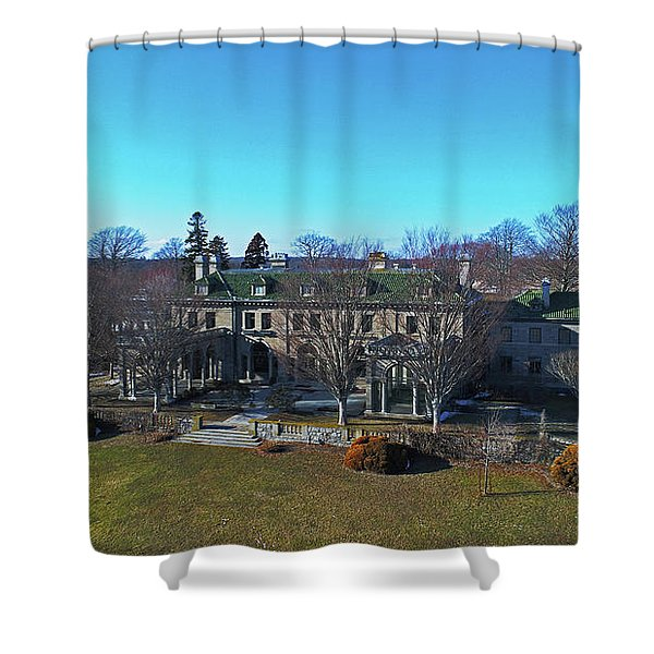 Eolia Mansion Shower Curtain