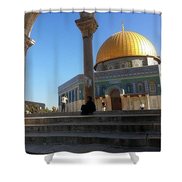 Equally.lesser Shower Curtain