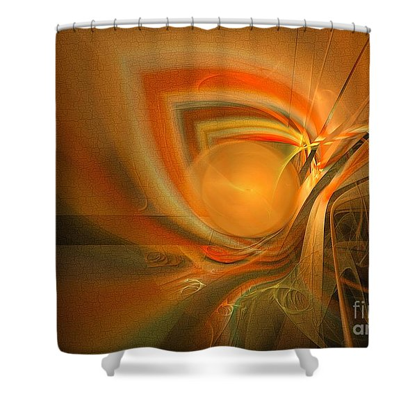 Equilibrium - Abstract Art Shower Curtain