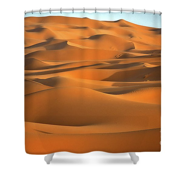 Erg Chebbi Desert Shower Curtain