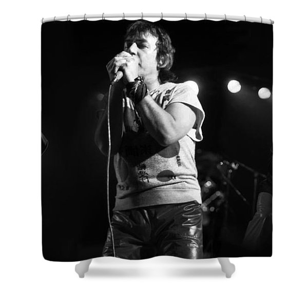 Eric Burdon 3 Shower Curtain