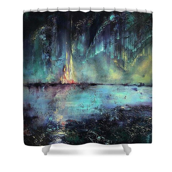 Erluption Shower Curtain