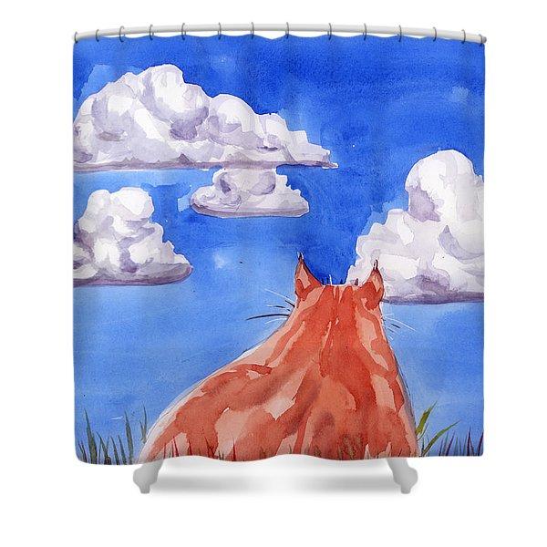 Ernesto's Dream Shower Curtain