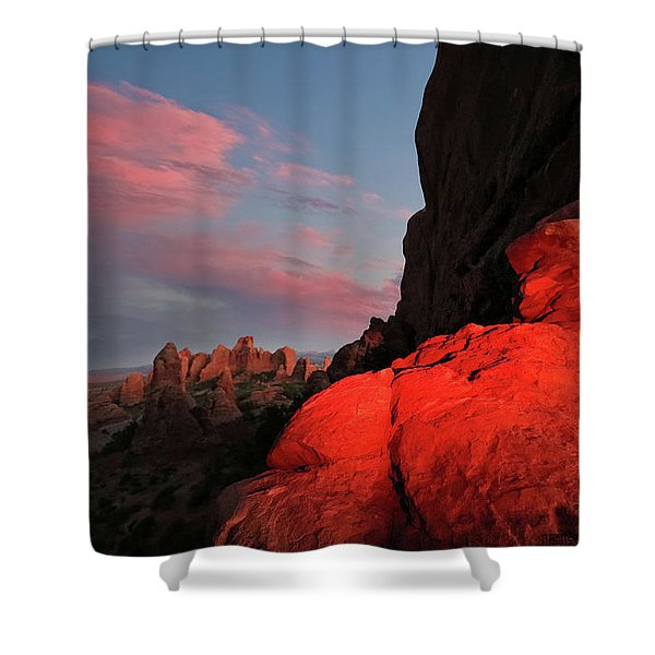 Erocktic Shower Curtain