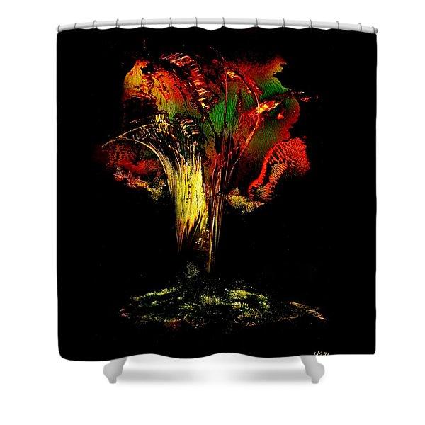 Eruption Of Hope Shower Curtain