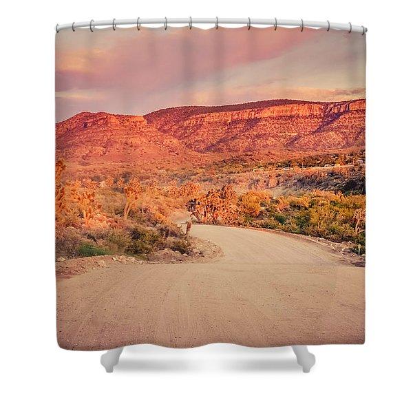 Eruptions On The Sun Shower Curtain