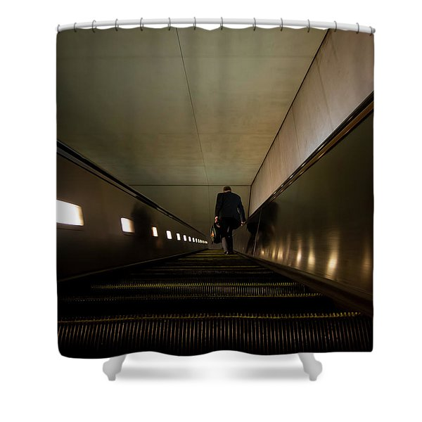 Escalation Shower Curtain