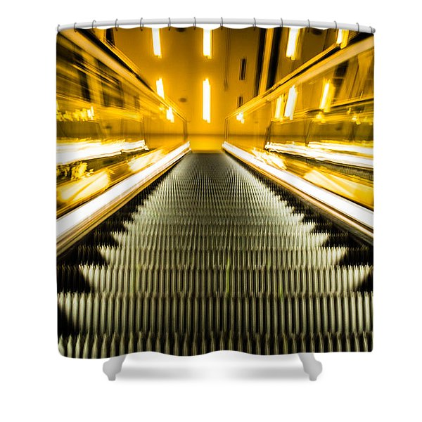 Escalator Shower Curtain