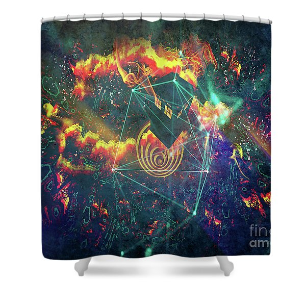 Escaping The Vortex Shower Curtain