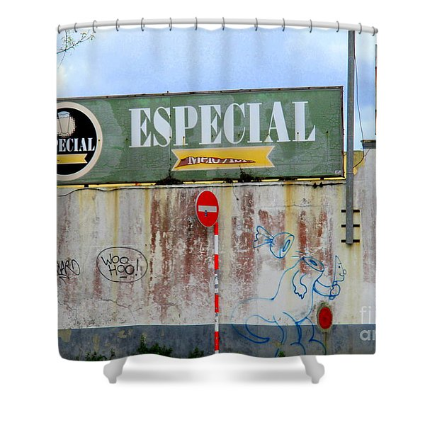 Especial Brewery Shower Curtain