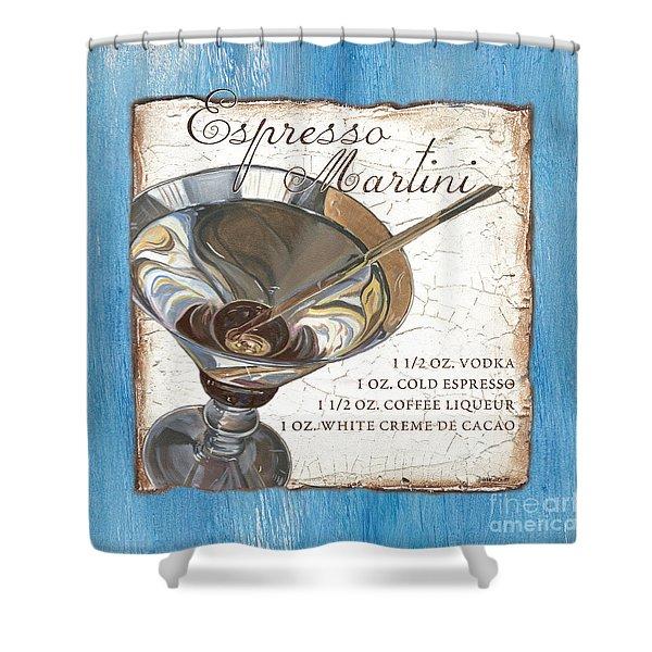 Espresso Martini Shower Curtain