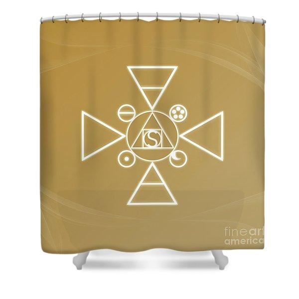 Essence Of The Spirit Shower Curtain