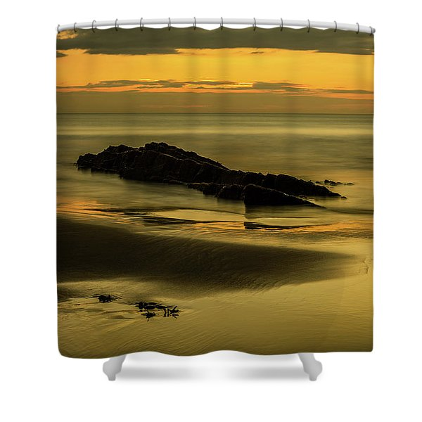 Shower Curtain featuring the photograph Essentially Tranquil by Nick Bywater