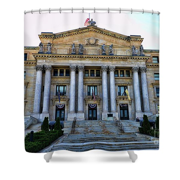 Essex Courthouse Shower Curtain