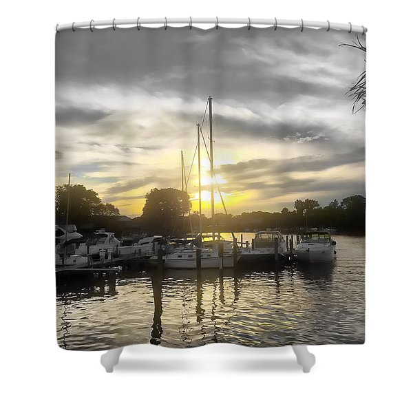 Essex Sunset Shower Curtain