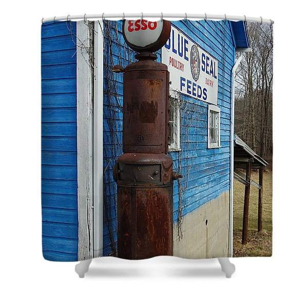 Esso On The Farm Shower Curtain