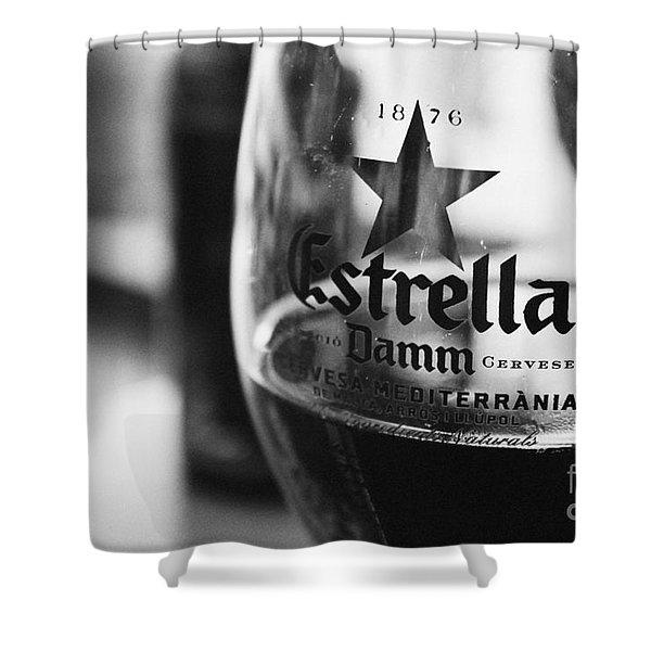 Estrella Damm Shower Curtain