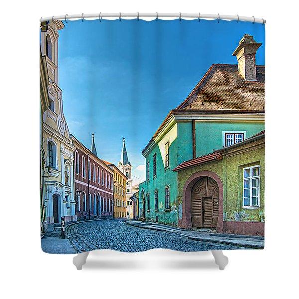 Esztergom Pastels Shower Curtain