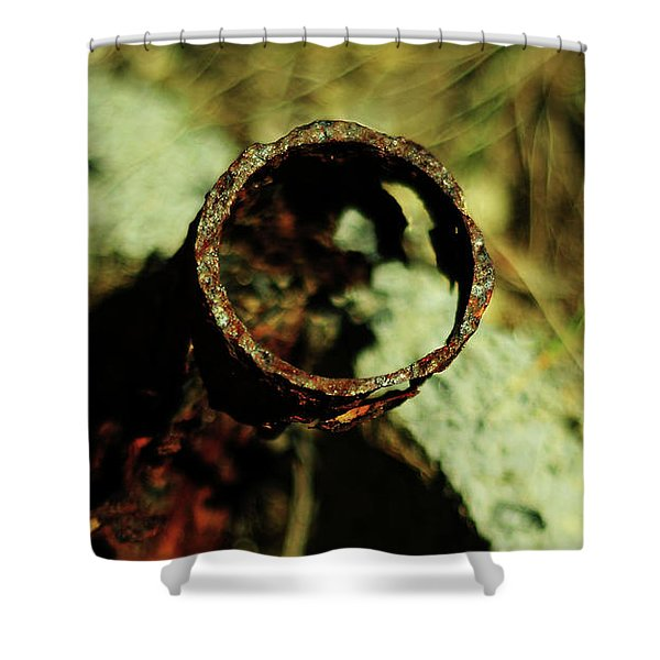 Eternal Is The Circle Shower Curtain