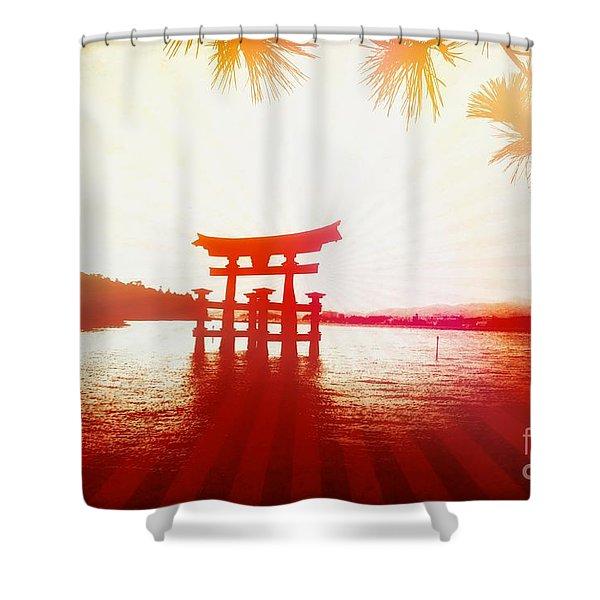 Eternal Japan Shower Curtain