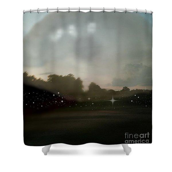 Eternal Perspective Shower Curtain